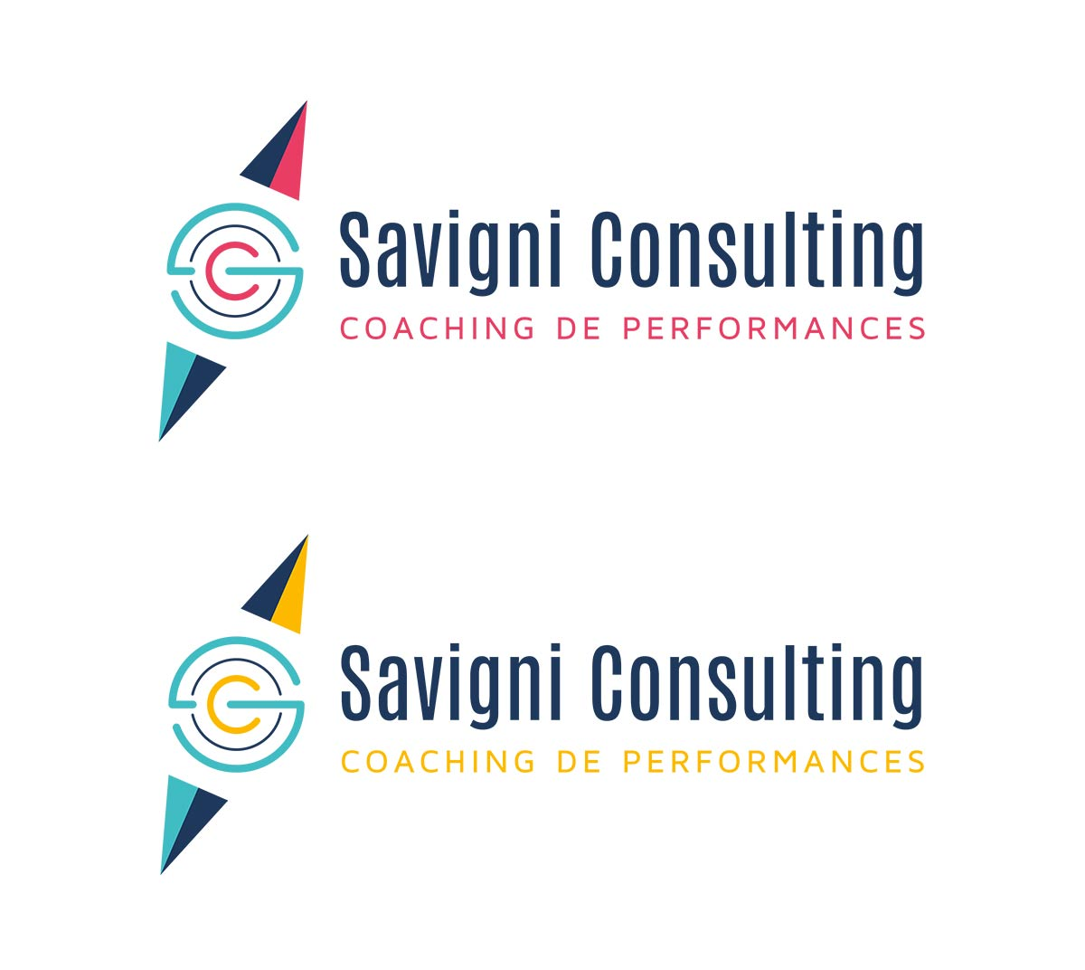 savigni-consulting-logo-creation