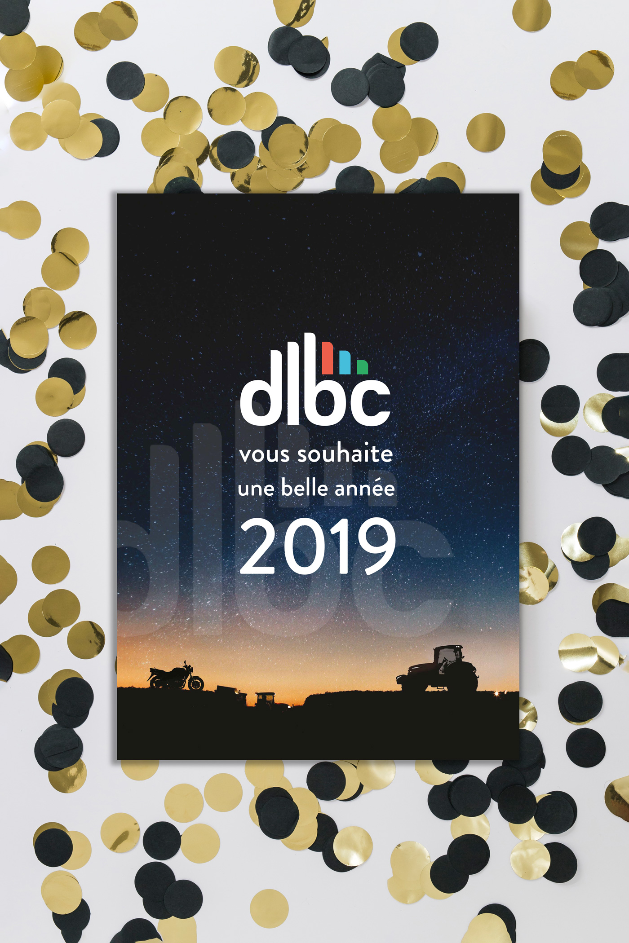 DLBC CARTE DE VOEUX